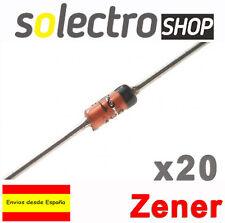20x Diodo Zener BZX55C5V1 5,1V 500mW DO-35 0.5W 5V1 T0029