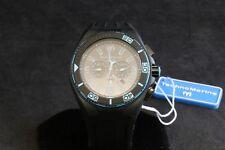 TechnoMarine Night Vision Cruise Black IP Chronograph Watch Black Dial TM-115058