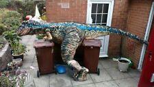 Walking dinosaur adult costume