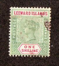 Leeward Islands--#7 Used--1890 Queen Victoria