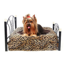 Pet Bed Dog Cushion Upscale Metal Frame Including Mattress Pets Cat Beds Cushion