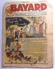 """BAYARD n°52 du 27/12/1936; """"Le totem du vieux-cerf"""""""" de Gervy/ Offrande crèche"""