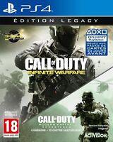 Call of Duty Infinite Warfare Legacy Edition PS4 Neuf New !