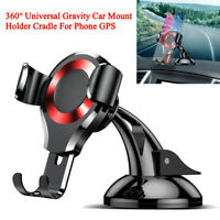360° Rotation Universal Gravity Car Truck Mount Holder Cradle For Cell Phone GPS