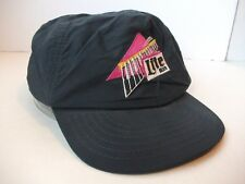 Vintage Lite Beer Hat Dark Blue Snapback Baseball Cap Made in USA