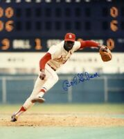 Bob Gibson 8 x10 Autographed Signed Photo ( HOF Cardinals ) REPRINT