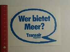 Decal/Sticker: Transair Flight Travel who offers sea (01111674)