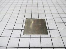 Niobium Metal Element Sample 1in Square Nb Sheet 99.9%+ Pure - Periodic Table