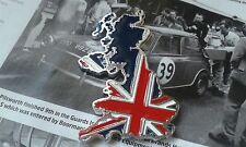 Mini Cooper Sport Classique Rover Union Jack EMAILLE insigne rare MPi SPi 1275 GT