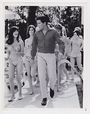 ELVIS PRESLEY SPINOUT 1966 ORIGINAL 8X10 VERTICAL B/W MOVIE STILL PHOTO