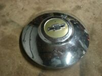 "OEM GM 9.5"" Dog Dish Center HubCap  1940 1950's ? Truck Chevy Bowtie Chevrolet"