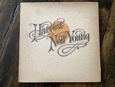 """Vintage 1972 Neil Young """"HARVEST"""" 1st Press LP - Reprise Records (MS-2032)"""