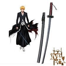 Bleach Ichigo Kurosaki's Bankai Wooden Cosplay Sword Replica Anime Tensa Bankai