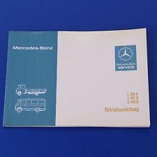 Mercedes T2 406D 407D O309D  Betriebsanleitung Ausgabe 5/1979