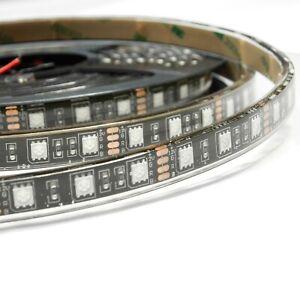 Bande led BLANC FROID souple 50cm étanche IP68 60Led/mètre avec adhésif 3M 12V