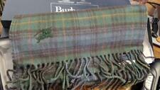 MODERN NWT Crisp BURBERRY 100% Cashmere Antique Hunting Stewart Plaid Scarf