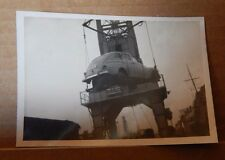 Photograph Automobilia 1948 Ford Super deluxe Fordor loaded on Ship by Crane
