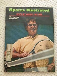 FM11-25 Sports Illustrated Magazine 5-21-1973 BOBBY RIGGS TENNIS