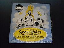 "Lyn Murray ""Snow White & The Seven Dwarfs"" Decca 9-108 Four 45 RPM Records"