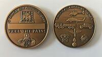 82d Airborne D (AMC) Aviation Brigade Vintage Challenge Coin