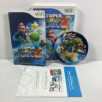 Super Mario Galaxy 2 Nintendo Wii 2010 Complete w/Manual Tested! CIB