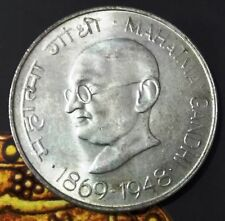 India-republic 10 Rupees Centennial - Mahatma Gandhi's Birth