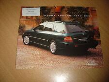 CATALOGUE Honda Accord Aero Deck de 1997