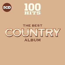 100 HITS - THE BEST COUNTRY ALBUM   5 CD NEUF