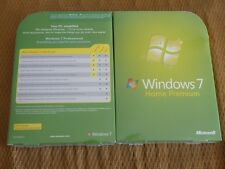 Microsoft Windows 7 Home Premium Retail Box,Sealed Retail Package,32-bit,64-bit