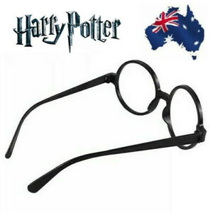 Harry Potter Wheres Wally Black Adult Kids Glasses Costume Accessory Party Gift