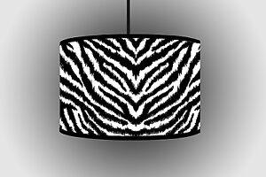30cm White Black Cheetah Pattern Lampshade Floor ceiling Light Shade