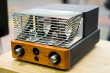 Unison Research Simply Italy Class A Valve HiFi Amplifier in Cherry, X-Dem