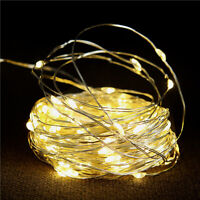 KQ_ 200 LED 20M Christmas Tree USB Fairy String Party Lights Waterproof Color La