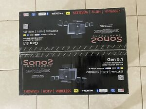 home theater system wireless surround sound