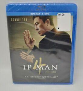 Ip Man 4: The Finale (BLU-RAY & DVD, 2020) STILL SEALED!