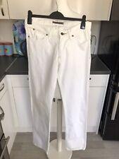 Reiss White Straight Leg Jeans W32 L34