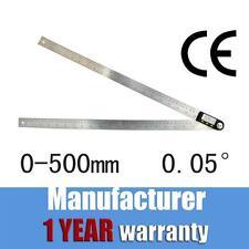 """MEBA 500mm 20"""" Digital Protractor Goniometer Angle Finder Miter Gauge Ruler 360°"""