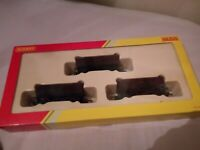 Hornby R6367 Triple Pack YGB Coal Wagon pack EWS Red & Gold Livery - Boxed