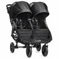 Baby Jogger 2016 City Mini GT Double Stroller - Black - New! Free Ship!