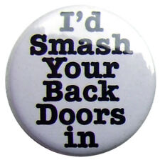 "Back Doors In 25mm (1"") badge -Keith Lemon Celeb Juice"