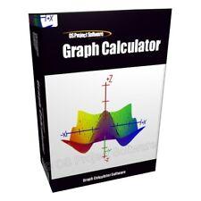 Graph Data Analysis Mathematics Calculator Software CD