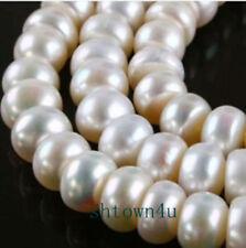 "6X8MM White Saltwater Akoya Pearl Loose Beads 15"""