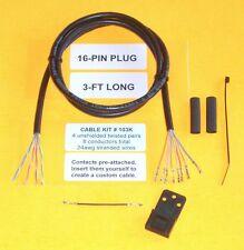 Cable Kit 103K Motorola 16 pin Maxtrac GM300 Repeater