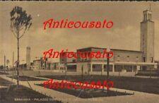 SABAUDIA PALAZZO COMUNALE E GIARDINI PUBBLICI cartolina - ANNI '30 non viaggiata