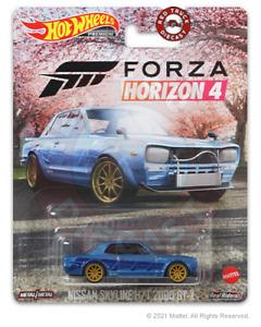 HOT WHEELS PREMIUM 2021 ENTERTAINMENT MIX 2 NISSAN SKYLINE H/T 2000 GT-X (FORZA)