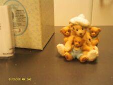 Cherished Teddies. Sissy, Brandy, Jada & Friend -friends give the warmest hugs