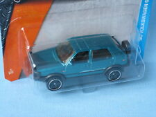 Matchbox VW Volkswagon Golf Country Blue Body Toy Model Car 70mm USA Import