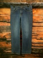 Tommy Hilfiger Womens Boyfriend Jeans Bootcut Medium Wash Size 10 Measure 32x31