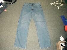 "O Club Worker Waist 32"" Leg 34"" Faded Medium Blue Mens Jeans"