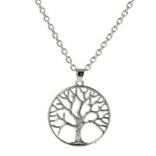 Silver Tree of Life Necklace Boho Jewellery Gypsy Bohemian Ethnic Gift A177